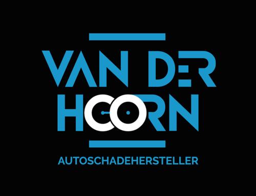 Van Der Hoorn Autoschadehersteller Logo, Visitekaart & Website