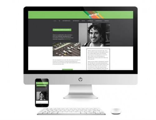 Faboem Website Ontwerp